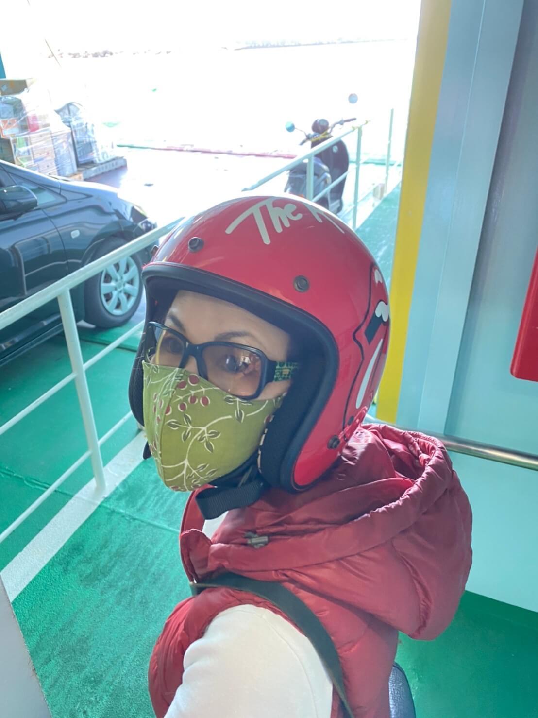 伊江島弾丸バイクの旅‼️~絶好の行楽日和の中(沖縄11月だが28度もあり暑い🥵)~