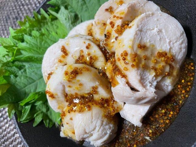 【熊の手キッチン#7】ホッタラカシ鶏ハムとハニーマスタードソース